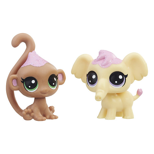 Набор фигурок Little Pet Shop Зефирные петы Дикие животныеКоллекционные фигурки<br>Характеристики:<br><br>• возраст: от 4 лет;<br>• материал: пластик;<br>• вес упаковки: 80 гр.;<br>• размер упаковки: 3,2х11,4х9,8 см;<br>• страна бренда: США.<br><br>Набор из двух игрушек Hasbro Littlest Pet Shop станет отличным дополнением коллекции животных. Отличительная особенность фигурок – большие мультяшные глаза. Игрушки выполнены из прочных безопасных материалов.<br><br>Набор игрушек 2 зефирных Пета «Дикие животные», Littlest Pet Shop, Hasbro можно купить в нашем интернет-магазине.<br>Ширина мм: 32; Глубина мм: 114; Высота мм: 98; Вес г: 80; Возраст от месяцев: 48; Возраст до месяцев: 2147483647; Пол: Женский; Возраст: Детский; SKU: 7922834;
