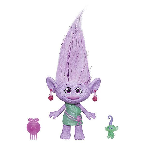 Hasbro Фигурка Троллиc заколочками для волос, Гия hasbro коллекционная фигурка trolls тролли поппи 10 см