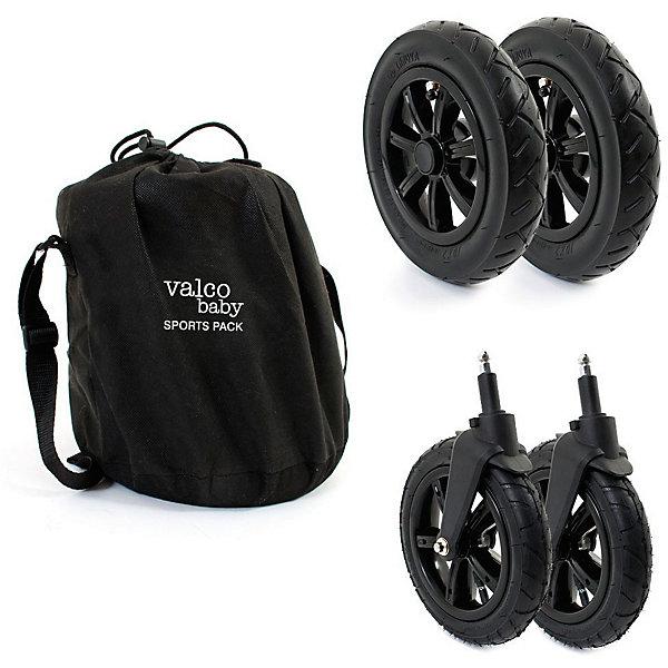Valco Baby Комплект надувных колес Valco Baby Sport Pack для Snap / Black чудо чадо чехлы на колеса для коляски диаметр 18 28 см цвет темно синий 4 шт