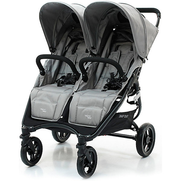 Valco Baby Прогулочная коляска для двойни Valco baby Snap Duo / Cool Grey