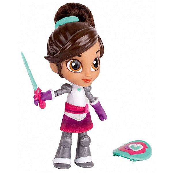 """Gulliver Мини-кукла Gulliver """"Нелла - отважная принцесса"""" Создай модный образ, Рыцарь Нелла с аксессуарами, 12 см"""