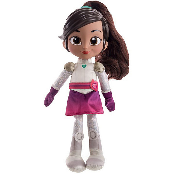 Интерактивная кукла Gulliver Нелла - отважная принцесса НеллаИнтерактивные куклы<br>Характеристики товара:<br><br>• возраст: от 5 лет;<br>• комплект: игрушка;<br>• высота игрушки: 32 см.;<br>• материал: ткань 100% ПЭ;<br>• упаковка: блистер на картоне;<br>• размер упаковки:  37 x 10 x 17 см..;<br>• вес: 450 гр.;<br>• наименование бренда: Gulliver (Гуливер);<br><br>Мягкая игрушка со звуковыми эффектами – очаровательная Нелла в образе рыцаря – создана для юных поклонниц популярного мультсериала «Нелла – отважная принцесса».  С такой игрушкой можно воспроизводить полюбившиеся эпизоды мультсериала, тренируя память, или придумывать собственные приключения для любимой героини, подключая фантазию, логическое и пространственное мышление.<br><br>Принцесса Нелла в образе рыцаря изготовлена из мягкого на ощупь, приятного плюша с качественным наполнителем внутри. На героине – блестящие доспехи, которые дополнены розовым ремешком, фиолетовыми перчатками и юбкой. На шее у нее голубой кулон в форме сердца – главный источник силы. <br><br>Главная отличительная особенность игрушки – звуковые эффекты. Нажав на подвеску в форме голубого сердца на шее персонажа, можно услышать: популярные и легко узнаваемые фразы из мультфильма; песню Неллы, которую легко запомнить.<br><br>Говорящую и поющую куклу «Нелла – рыцарь», 32 см., от Gulliver (Гуливер) можно купить в нашем интернет-магазине.<br>Ширина мм: 1000; Глубина мм: 150; Высота мм: 320; Вес г: 450; Возраст от месяцев: 36; Возраст до месяцев: 60; Пол: Женский; Возраст: Детский; SKU: 7923240;