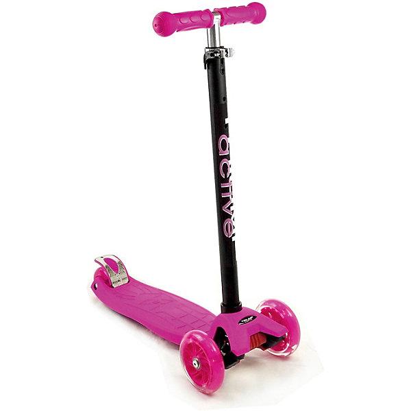 Купить Трехколесный самокат Triumf Active Maxi Flash SKL 07-L, Pink, Китай, розовый, Женский