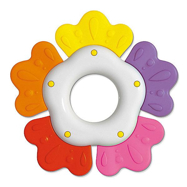 Погремушка-прорезыватель Stellar ЛютикИгрушки для новорожденных<br>Характеристики:<br><br>• возраст: 0+;<br>• материал: полистирол, ТЭП;<br>• размеры: 14,5х1,5х20,5 см;<br>• вес: 60 г.<br><br>Погремушка-прорезыватель «Лютик» - веселая игрушка для малышей. Также она пригодится в период прорезывания зубов. Приятная рельефная поверхность прорезывателя нежно массирует десны, устраняя зуд и неприятные ощущения.<br><br>Форма, размеры и вес игрушки идеальны для захвата маленькими ручками. Ребенку будет удобно держать погремушку, крутить, переносить с места на место, как это любят делать маленькие непоседы. <br><br>«Лепестки» из рельефного материала идеально подходят для детских воспаленных десен, они массируют их, позволяют снять зуд и неприятные<br>ощущения.<br><br>Погремушка-прорезыватель изготовлена из абсолютно безопасных материалов, легко моется и дезинфицируется.<br><br>Погремушку - прорезыватель «Лютик», Stellar можно приобрести в нашем интернет-магазине.<br>Ширина мм: 145; Глубина мм: 15; Высота мм: 205; Вес г: 60; Возраст от месяцев: 36; Возраст до месяцев: 2147483647; Пол: Унисекс; Возраст: Детский; SKU: 7925563;