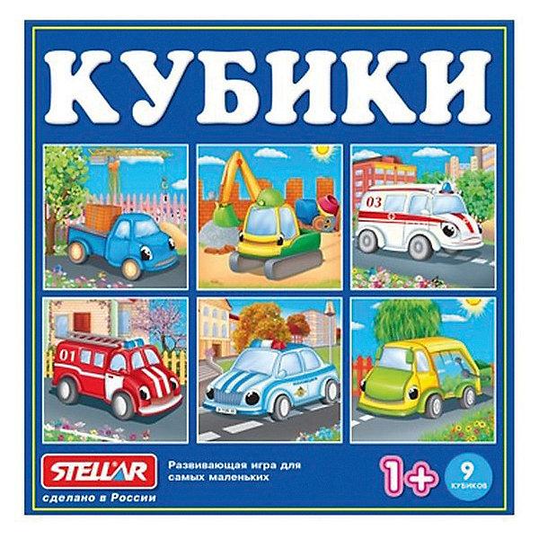 Кубики в картинках Stellar 39, 9 штукРазвивающие игрушки<br>Характеристики:<br><br>• возраст: 1+;<br>• количество кубиков: 9 шт.;<br>• размеры упаковки: 12х12х4 см;<br>• вес: 147 г.<br><br>Кубики с картинками – хорошая игра для самых маленьких мальчиков и девочек. С их помощью дети учатся узнавать целый образ в деталях, видеть и находить недостающие части картинки.<br><br>Набор кубиков можно использовать для строительства обычных башенок и заборчиков, что так любят делать все дети.<br><br>Для более эффективного использования кубиков рекомендуется предлагать малышу разные тематические наборы. Такие игры помогают развивать мелкую моторику, усидчивость, образное мышление, память.<br><br>«Кубики в картинках 39», Stellar можно приобрести в нашем интернет-магазине.<br>Ширина мм: 120; Глубина мм: 120; Высота мм: 40; Вес г: 147; Возраст от месяцев: 12; Возраст до месяцев: 2147483647; Пол: Унисекс; Возраст: Детский; SKU: 7925565;