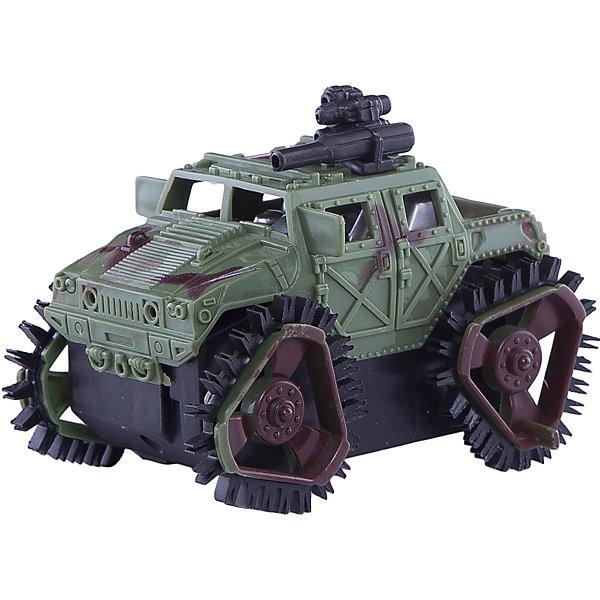 Машина-перевертыш Zhorya Армейский джипВоенный транспорт<br>Характеристики:<br><br>• возраст: 3+;<br>• материал: пластик;<br>• размеры: 11,2х8х8,5 см;<br>• вес: 112 г.<br><br>Небольшой игрушечный джип очень напоминает настоящую боевую модель. Все детали тщательно проработаны, у машины правильная форма корпуса, есть кабина водителя и оружие.<br><br>Игрушка оснащена датчиками звука. Машинка при столкновении с препятствием переворачивается и продолжает движение.<br> <br>Военный самолет можно использовать в игре с разными сюжетами: для оказания помощи в городе, транспортировки раненых, для выполнения работы в военном гарнизоне. Мальчики смогут почувствовать себя водителем настоящего военного джипа.<br><br>Работает от батареек ( в комплект не входят).<br><br>Машину-перевертыш «Армейский джип», Zhorya можно приобрести в нашем интернет-магазине.<br>Ширина мм: 112; Глубина мм: 80; Высота мм: 85; Вес г: 112; Возраст от месяцев: 36; Возраст до месяцев: 2147483647; Пол: Мужской; Возраст: Детский; SKU: 7925579;