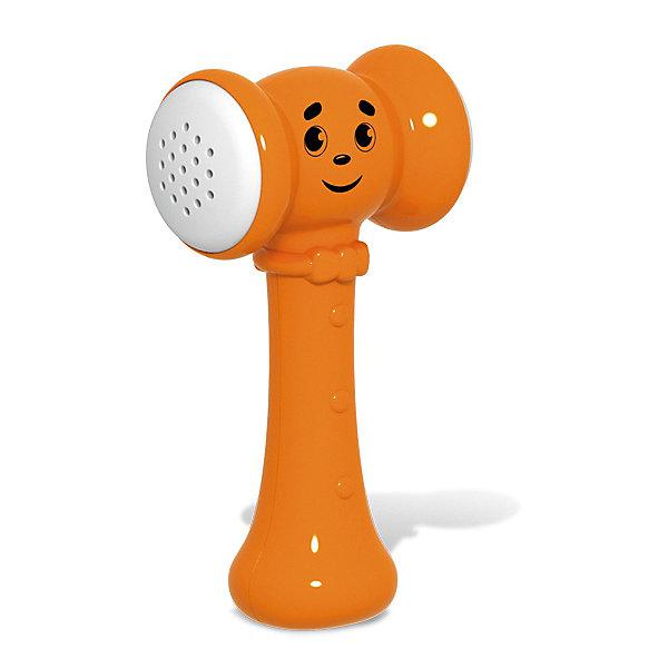 Звуковой молоточек-стучалка Stellar Веселая кувалдочкаРазвивающие игрушки<br>Характеристики:<br><br>• возраст: 1+;<br>• материал: полистирол;<br>• размеры: 12,5х5,5х25 см;<br>• вес: 80 г.<br><br>Простая и добрая «Веселая кувалдочка» станет любимой игрушкой малыша. Игрушка с симпатичной мордочкой имеет удобную ручку, которая идеально подойдет для маленькой ладошки.<br><br>При ударе по любой поверхности игрушка издает забавные звуки, которые развеселят ребенка, сделают игру интересной, а также помогут в развитии слухового восприятия.<br><br>Игрушка изготовлена из высококачественного пластика и имеет мягкие ударные подушечки. <br><br>Увлекательная игрушка будет благоприятно влиять на эмоциональное состояние и настроение малыша.<br><br>Игрушку «Веселая кувалдочка», Stellar можно приобрести в нашем интернет-магазине.<br>Ширина мм: 125; Глубина мм: 55; Высота мм: 250; Вес г: 80; Возраст от месяцев: 12; Возраст до месяцев: 2147483647; Пол: Унисекс; Возраст: Детский; SKU: 7925583;