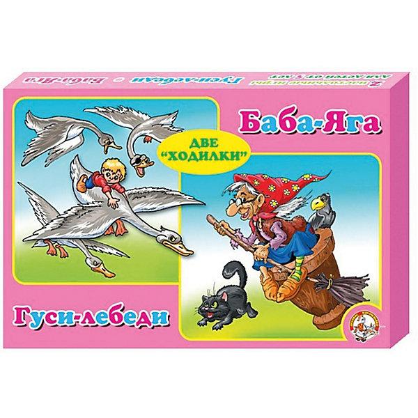 Настольная игра - ходилка  Десятое королевство 2 в 1  Храброе сердцеНастольные игры ходилки<br>Характеристики:<br><br>• тип игрушки: настольная игра;<br>• возраст: от 7 лет;<br>• ISBN: 000459;<br>• комплектация:  2 игровых поля на 87 и 100 ходов, 4 фишки, кубик 1-6, правила игры;<br>• вес: 254 гр;<br>• размер: 23,5х34,5х3,5 см;<br>• бренд:  Десятое королевство.<br><br>Игра настольная Десятое королевство ходилка 2 в 1 «Гуси-ледеби. Баба-Яга»  поможет весело провести время с друзьями и в кругу семьи! Коллективная игра мгновенно обучит малыша считать до шести, а со знакомыми персонажами из двух игр в комплекте вы сможете придумать свои неповторимые истории. В игре принимают участие 2-4 человека.<br><br>Игру настольную Десятое королевство ходилка 2 в 1 «Гуси-ледеби. Баба-Яга»  можно купить в нашем интернет-магазине.<br>Ширина мм: 350; Глубина мм: 235; Высота мм: 35; Вес г: 25; Возраст от месяцев: 84; Возраст до месяцев: 120; Пол: Унисекс; Возраст: Детский; SKU: 7925993;
