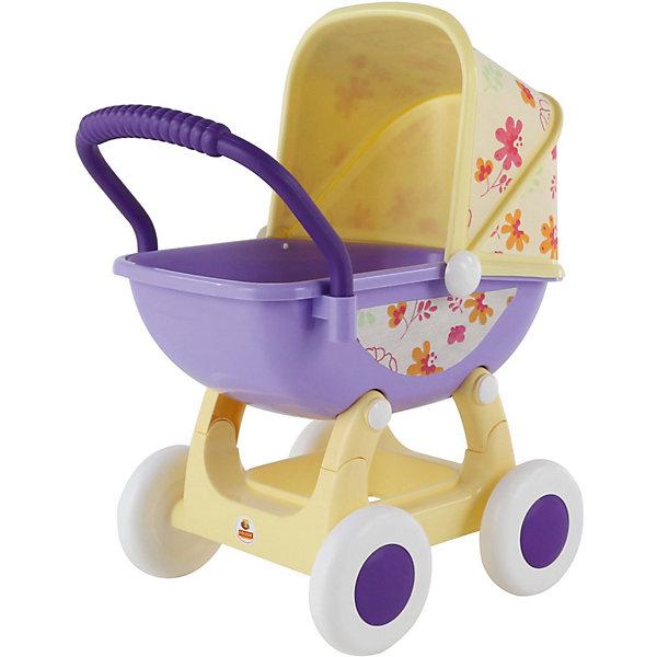 Коляска для куклы Полесье Arina №2 сиреневая с желтымТранспорт и коляски для кукол<br>Характеристики:<br><br>• тип игрушки: коляска;<br>• возраст: от 3 лет;<br>• материал: пластик;<br>• размер куклы: 48 см;<br>• цвет: сиреневый, желтый;<br>• вес: 1,76 кг;<br>• размер: 44,5х33,2х59,5 см;<br>• страна бренда: Беларусь;<br>•бренд: Полесье.<br><br>Коляска для куклы Полесье «Arina №2» сиреневая с желтым Полесье - непременный атрибут игровой любой девочки. Малышки просто обожают играть в дочки-матери: заботиться о куклах, наряжать их, кормить понарошку и, конечно, катать в коляске. Для малышки – это всего лишь игра, но зато какая: девочка учится простым навыкам, координации движений, развивает чувство ответственности и эмпатии.<br><br>Главная особенность данной коляски - это снимающийся козырек, данная функция придает коляске наибольшую интерактивность и размах для детских игр. Коляска выполнена из крепкого пластикового корпуса который установлен на 4-х пластиковых колесах - благодаря чему обеспечивается мягкость и плавность при движении коляски. В данную коляску можно усадить практически любую куклу размером до 48 см.<br><br>В Верхней части установлен защитный козырек от дождя (теперь ваша кукла не промокнет при прогулке под дождем). Изнутри козырек и сидение обклеены в красивые цветочные тона.<br><br>Коляску для куклы Полесье «Arina №2» сиреневая с желтым Полесье можно купить в нашем интернет-магазине.<br>Ширина мм: 445; Глубина мм: 332; Высота мм: 595; Вес г: 1760; Цвет: желтый; Возраст от месяцев: 36; Возраст до месяцев: 2147483647; Пол: Женский; Возраст: Детский; SKU: 7927290;