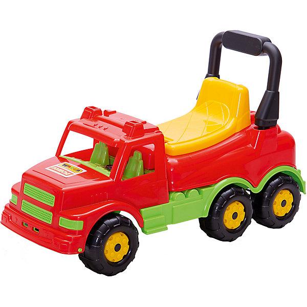 Polesie Каталка-автомобиль Полесье Буран №1, красная, в коробке игрушки для ванны полесье паром балтик автомобиль мини 4 шт