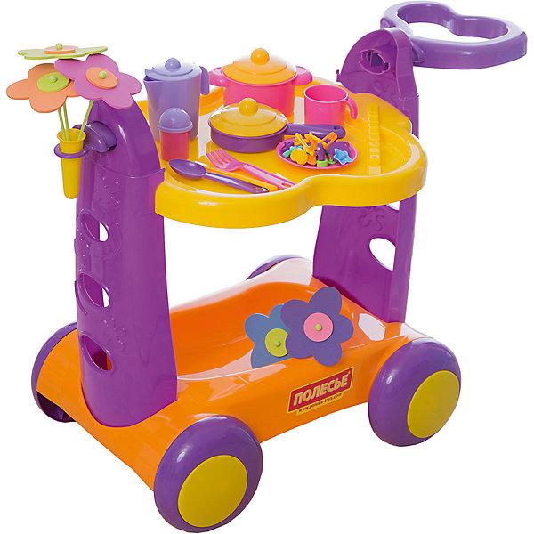 Polesie Игровой набор Полесье Сервировочный столик, в коробке polesie машинка с сортером полесье майк в коробке