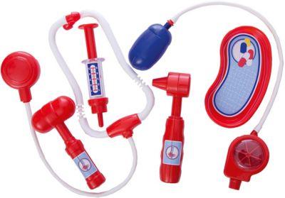 Полесье Игровой набор Полесье Доктор №5 6 предметов, в пакете полесье набор игрушек для песочницы полесье disney pixar тачки 18 5 предметов