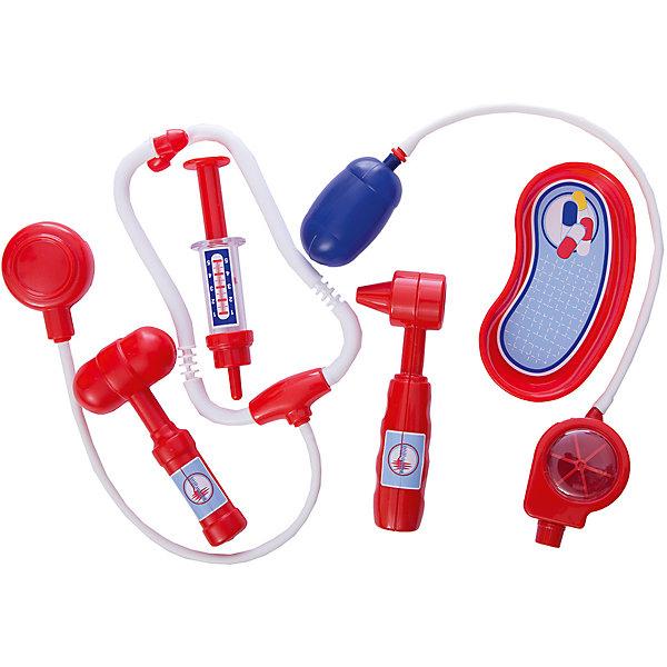 Фото - Полесье Игровой набор Полесье Доктор №5 6 предметов, в пакете полесье набор игрушек для песочницы 468 цвет в ассортименте