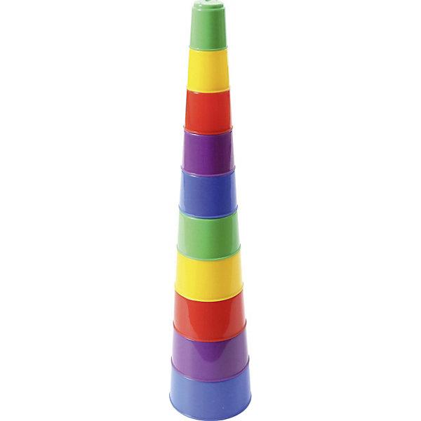 Полесье Пирамидка Полесье №2 10 элементов, в пакете полесье пирамидка полесье занимательная пирамидка 2 10 деталей