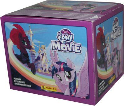 Наклейки Panini Мой маленький пони в кино, 50 пакетов по 5 наклеек, артикул:7929489 - My little Pony