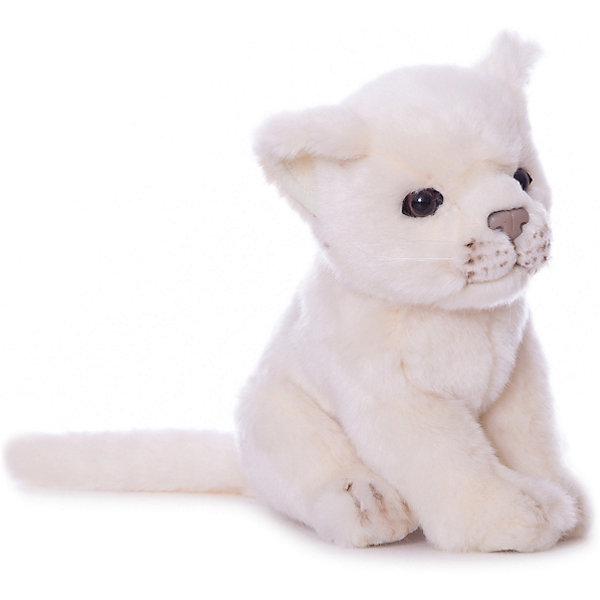 Hansa Мягкая игрушка Hansa Львенок белый, 17 см цены