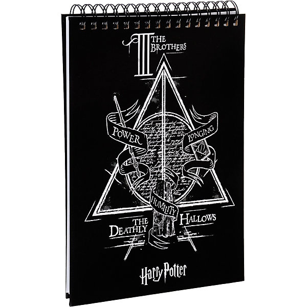 Эксмо Планшет для записи Гарри Поттер. Дары смерти А4, навивка планшет