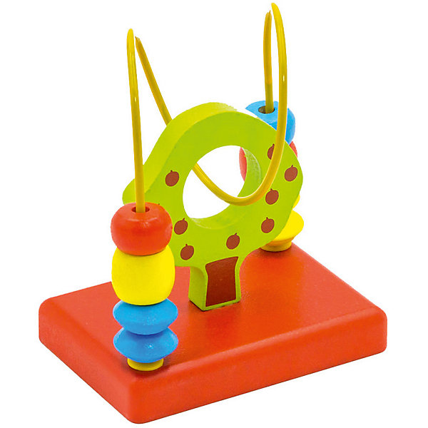 Лабиринт Alatoys ЯблоняДеревянные игрушки<br>Характеристики:<br><br>• тип игрушки: лабиринт;<br>• возраст: от 12 мес;<br>• материал: дерево, металл;<br>• вес: 179 гр;<br>• размер: 12х10х7 см;<br>• страна бренда: Россия;<br>• бренд: ALATOYS .<br><br>Лабиринт  «Яблоня» ALATOYS - это головоломка для самых маленьких.Игрушка совсем несложная, но малышу придется с ней немного повозиться, чтобы понять как она устроена, тем более, если он столкнется с подобной игрушкой впервые. «Яблоня» поможет развить логику, мелкую моторику рук, и просто познакомит ребенка с головоломками.<br><br>Лабиринт «Яблоня» ALATOYS можно купить в нашем интернет-магазине.<br>Ширина мм: 120; Глубина мм: 100; Высота мм: 70; Вес г: 179; Возраст от месяцев: 36; Возраст до месяцев: 2147483647; Пол: Унисекс; Возраст: Детский; SKU: 7932389;