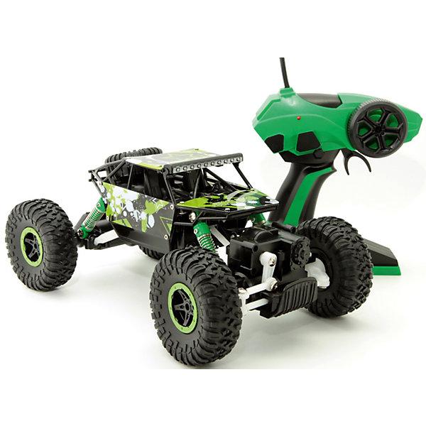 Купить Радиоуправляемая машина Balbi Внедорожник Crawler 1:18, зелёный, Россия, Мужской