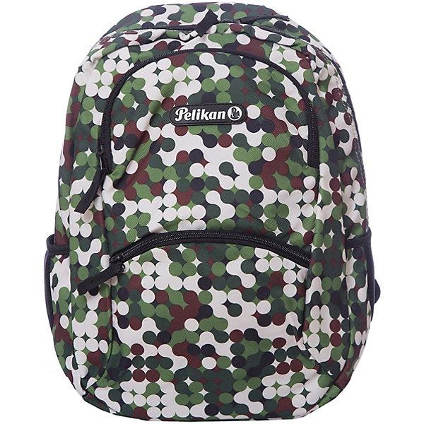 Pelikan Рюкзак Pelikan Zipper Pocket Style Safari, 40х28х15см ручки pelikan 976423