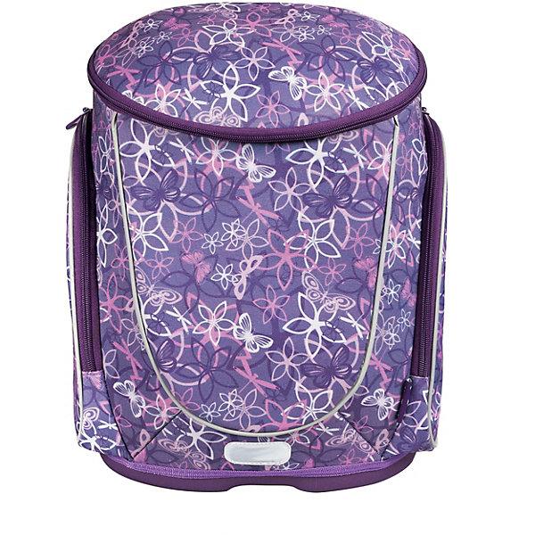 Рюкзак школьный Fancy, Blossom, 37х30х18 смРюкзаки<br>Характеристики:<br><br>• школьный рюкзак для девочки;<br>• жесткий корпус;<br>• эргономичная спинка; <br>• регулируемые по длине лямки;<br>• основное отделение с внутренней подвижной перегородкой;<br>• дополнительные карманы на молнии: 1 центральный и 2 боковых;<br>• дно из влагоустойчивого материала;<br>• наличие светоотражающих элементов;<br>• материал: EVA, полиэстер;<br>• размер упаковки: 37х30х18 см;<br>• вес: 895 г.<br><br>Школьный рюкзак с жестким каркасом и эргономичной спинкой имеет одно внутреннее отделение на молнии. Дополнительные карманы позволяют организовать место в рюкзаке и расположить канцелярские принадлежности под рукой. Рюкзак выполнен в фиолетовом цвете и украшен цветочным принтом. <br><br>Рюкзак школьный Fancy, Blossom, 37х30х18 см можно купить в нашем интернет-магазине.<br>Ширина мм: 370; Глубина мм: 300; Высота мм: 180; Вес г: 930; Возраст от месяцев: 72; Возраст до месяцев: 144; Пол: Женский; Возраст: Детский; SKU: 7932929;