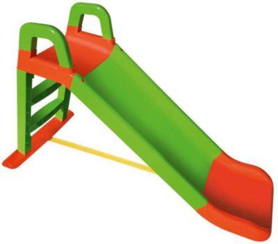 Горка Doloni  Весёлый спуск , зелёно-оранжевая, артикул:7933641 - Детская площадка