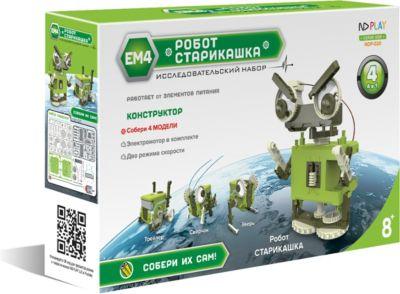 Конструктор ND Play  Робот-старикашка 4 в 1 , артикул:7934395 - Робототехника и электроника