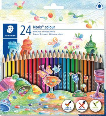 Набор цветных карандашей Staedtler «Noris Colour», 24 цвета, артикул:7935299 - Рисование и раскрашивание