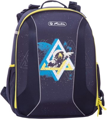 Рюкзак Herlitz  be.bag Airgo  Space Men, без наполнения, артикул:7936495 - Школьные рюкзаки и ранцы