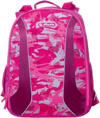 Рюкзак Herlitz  be.bag Airgo  Camouflage Girl, без наполнения, артикул:7936497 - Школьные рюкзаки и ранцы