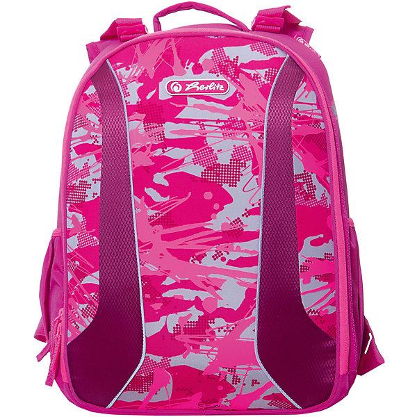 herlitz Рюкзак Herlitz be.bag Airgo Camouflage Girl, без наполнения herlitz herlitz рюкзак школьный midi blue dino 1 4 класс без наполнения