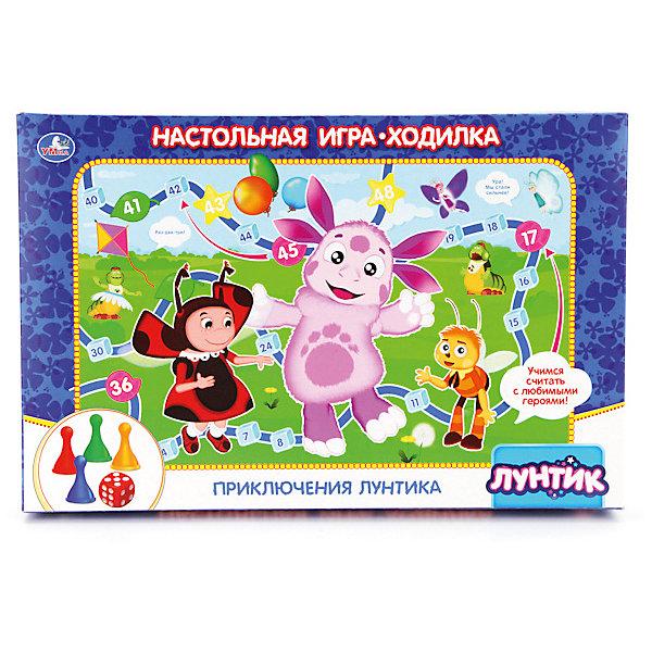 Умка Настольная игра-ходилка Лунтик