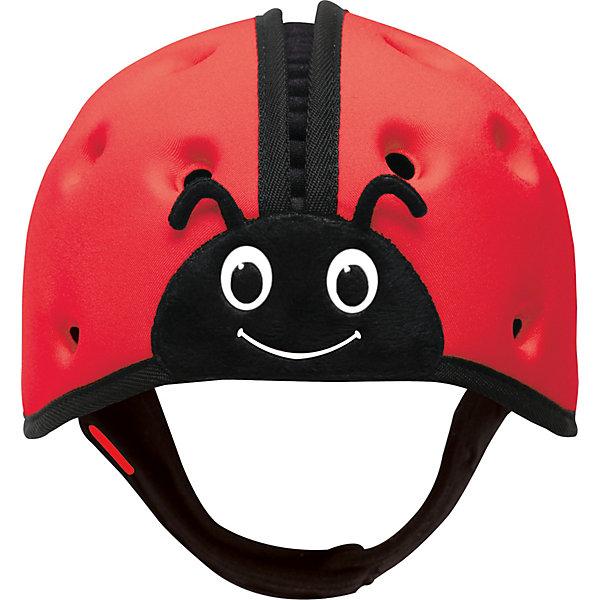 Мягкая шапка-шлем для защиты головы  SafeheadBABY Божья коровка, красныйЗащита малыша<br>Характеристики:<br><br>• возраст: от 7 месяцев до 2 лет<br>• обхват головы: 40 – 52 см.<br>• вес: менее 100 гр.<br>• особенности: ударопрочный; хорошо пропускает воздух; никакого давления на растущую голову и развивающиеся мышцы шеи.<br>• материал: внутренняя поверхность: хлопок, наружный слой: нейлон, спандекс, пена высокой плотности с закрытыми ячейками<br>• уход: только ручная стирка в слабом мыльном растворе, сушка в закрытом помещении<br>• не предназначен для использования во время занятий спортом, включая езду на велосипеде, катание на лыжах или на доске.<br><br>Запатентованный получивший награды мягкий головной убор предназначен детей, которые учатся ходить. Шапка-шлем защитит голову малыша при падении с высоты своего роста, от ударов при вставании и неуверенной ходьбе. С ним вам не нужно ходить по пятам за неустойчиво стоящим малышом, что даёт родителям душевное спокойствие, а ребенку свободу движений, которая ему так необходима.<br><br>Шлем очень легкий, поэтому нет лишней нагрузки на голову и шею. Размер регулируется. Удобный регулируемый ремешок можно быстро расстегнуть. Специально разработанная конструкция и отверстия по всей поверхности обеспечивают хорошую пропускаемость воздуха, что не дает голове малыша перегреться. Комфорт и оптимальная температура внутри шлема снижают шансы того, что ребенок захочет его снять.<br><br>Мягкая шапка-шлем для защиты головы SafeheadBABY «Божья коровка» - это идеальное решение для активных малышей, как в помещении, так и на улице.<br><br>Мягкую шапку-шлем для защиты головы  SafeheadBABY Божья коровка, красную можно купить в нашем интернет-магазине.<br>Ширина мм: 200; Глубина мм: 170; Высота мм: 140; Вес г: 120; Цвет: красный; Возраст от месяцев: 7; Возраст до месяцев: 24; Пол: Унисекс; Возраст: Детский; SKU: 7941353;