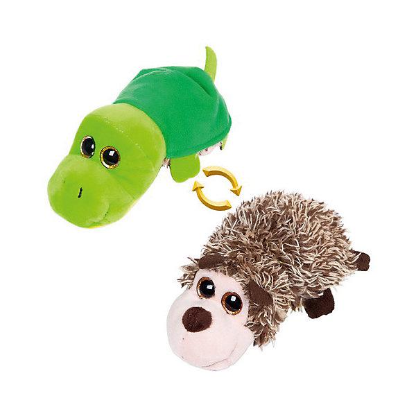 TEDDY Мягкая игрушка Teddy Перевертыши Ёжик-Черепашка, 16 см