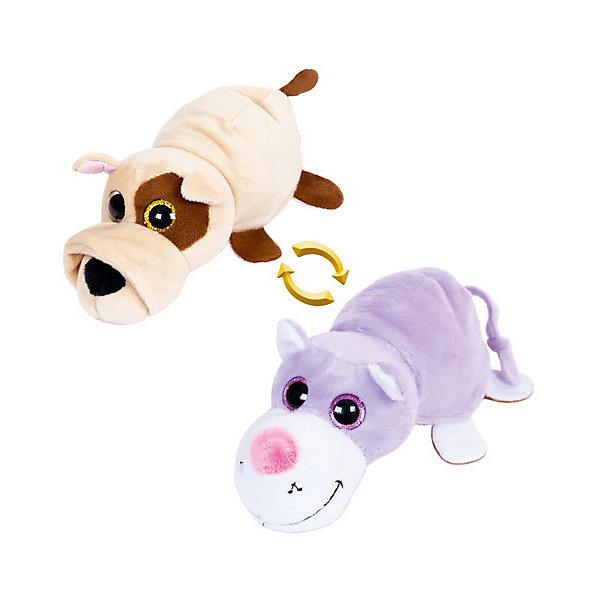 TEDDY Мягкая игрушка Teddy Перевертыши Собака-Кот, 16 см teddy мягкая игрушка собака в кепке 15 см