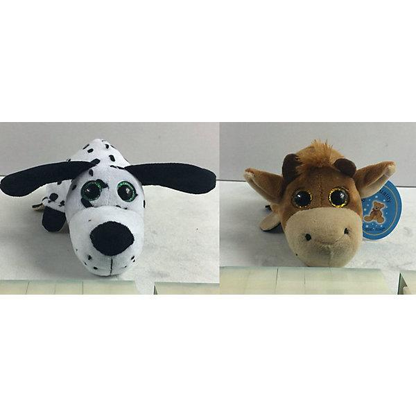 TEDDY Мягкая игрушка Teddy Перевертыши Собака-Бык, 16 см teddy мягкая игрушка собака в кепке 15 см