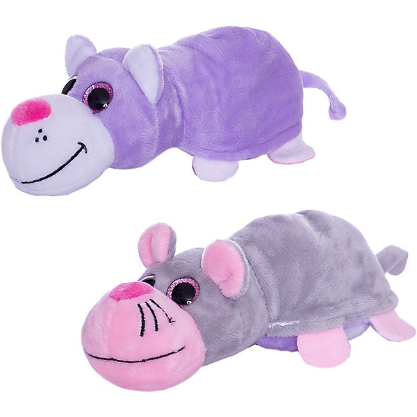 TEDDY Мягкая игрушка Teddy Перевертыши Кот-Мышка, 16 см