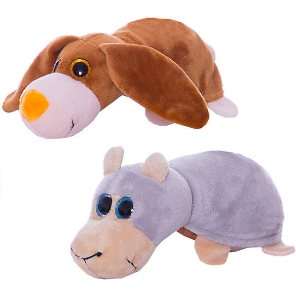 TEDDY Мягкая игрушка Teddy Перевертыши Овечка-Собака, 16 см