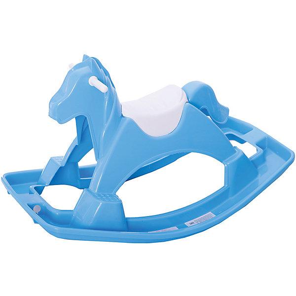 PalPlay Качалка PalPlay Лошадка, голубая качалки игрушки кипрей лошадка звездочка