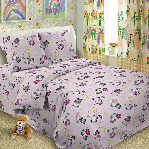 Купить Детское постельное белье 3 предмета Letto, BG-68, Россия, розовый, Унисекс
