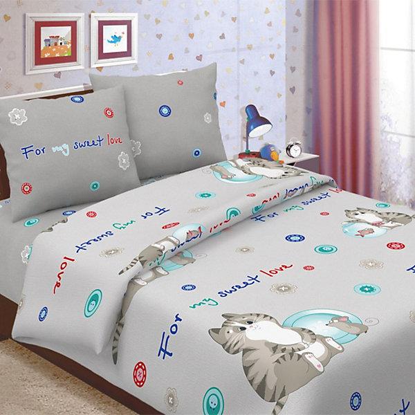 Фотография товара детское постельное белье 1,5 сп. Letto, Коржик (7949262)