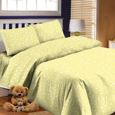 Детское постельное белье 3 предмета Letto, простыня на резинке, BGR-57, артикул:7949270 - Детский текстиль