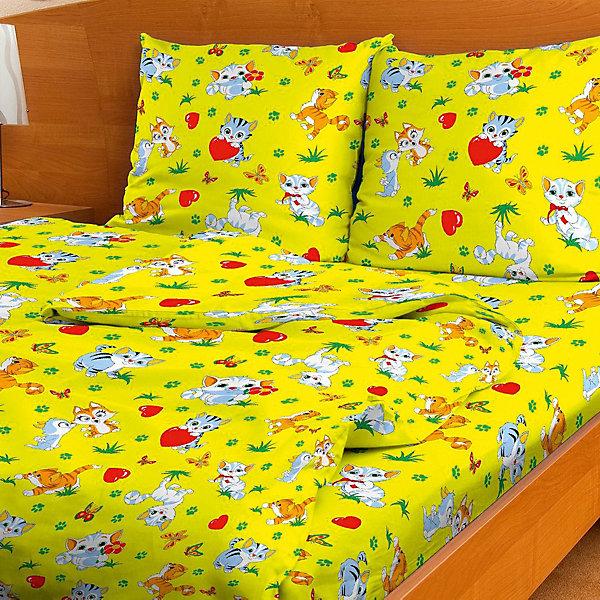 Фотография товара детское постельное белье 1,5 сп. Letto,Мурзик (7949336)