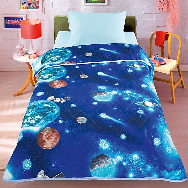 Фотография товара покрывало-одеяло Космос 140*200, стеганное, Letto (7949342)