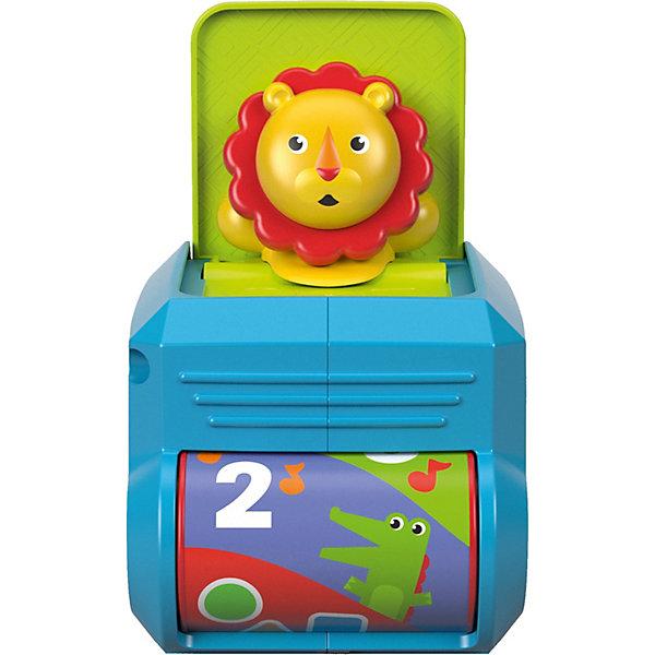 Mattel Интерактивный кубик Fisher-Price Львёнок с сюрпризом