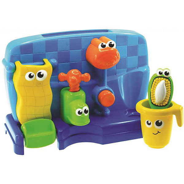 HAP-P-KID Набор для купания HAP-P-KID Мойдодыр игрушки для ванны hap p kid игрушка для купания брызгалка пингвиненок