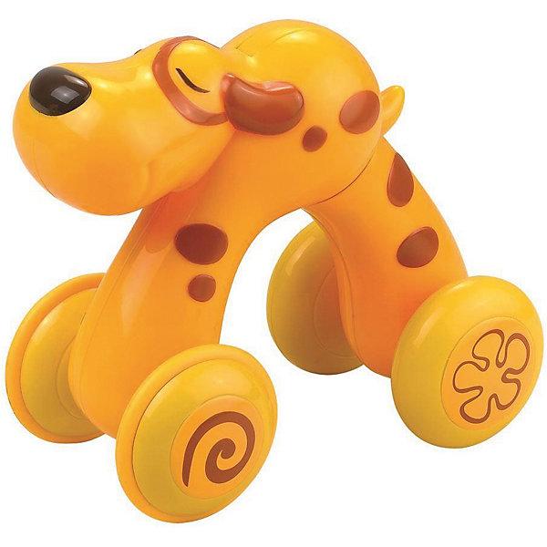 HAP-P-KID Щенок HAP-P-KID, серия Нажми и поедет музыкальная игрушка hap p kid мой первый фотоаппарат