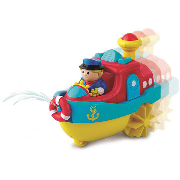 HAP-P-KID Игрушка для купания HAP-P-KID Водный транспорт, пароход hap p kid игрушка робот red revo 3578t