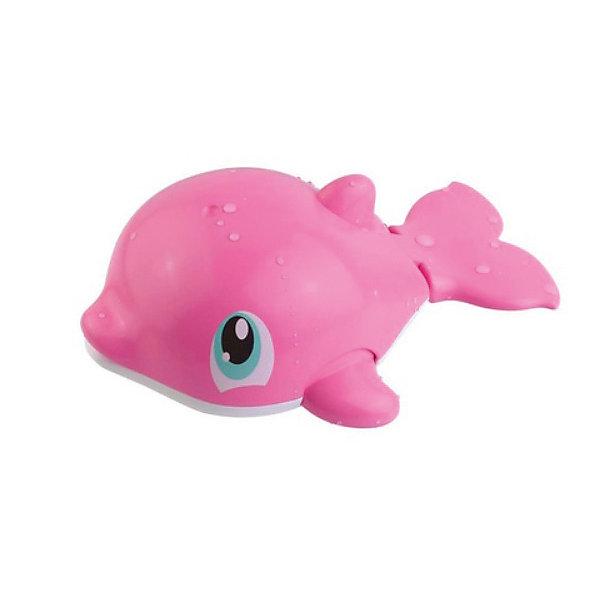 HAP-P-KID Игрушка для купания Водоплавающие, розовый дельфин игрушки для ванны hap p kid игрушка для купания брызгалка пингвиненок
