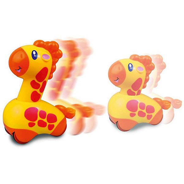 HAP-P-KID Жираф HAP-P-KID, серия Нажми и поедет hap p kid игрушка робот red revo 3578t